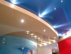 Натяжные потолки г.Челябинск, сатиновые натяжные потолки, глянцевые натяжные потолки